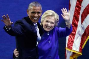Barack et Hillary