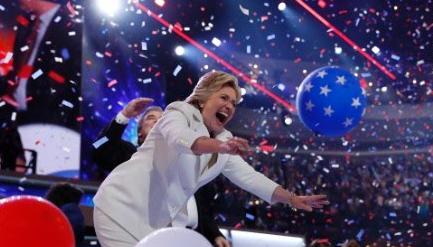 Hillary et ballons